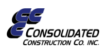 Consolidated Construction, Co.