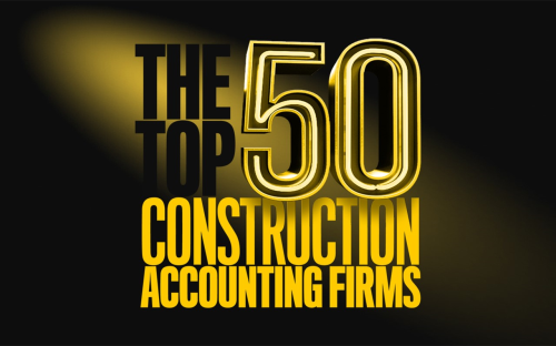 Congratulations to NEW Construction Alliance Members Wipfli and Baker Tilly; Both Landed in the Top 10 out of the 50 Best Construction Accounting Firms List